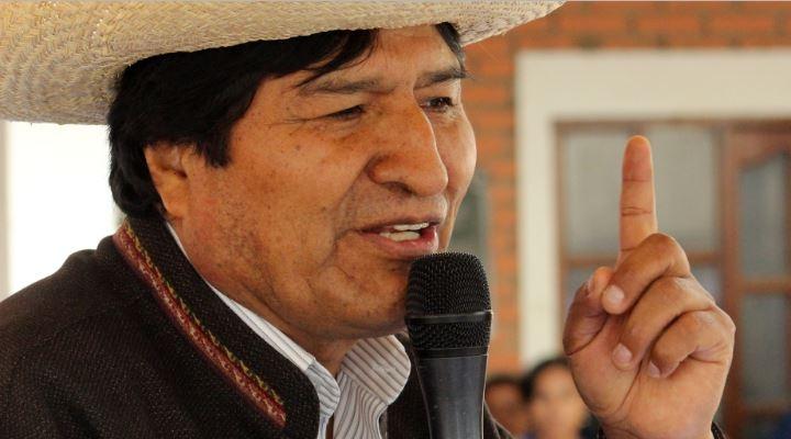 """Evo Morales demanda a la comunidad internacional apoyo para que se acepte """"su gran acuerdo por la paz"""""""