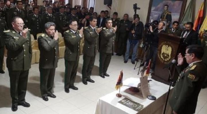 Comandante general señala  que nuevos comandantes policiales asumirán funciones en el tiempo más breve