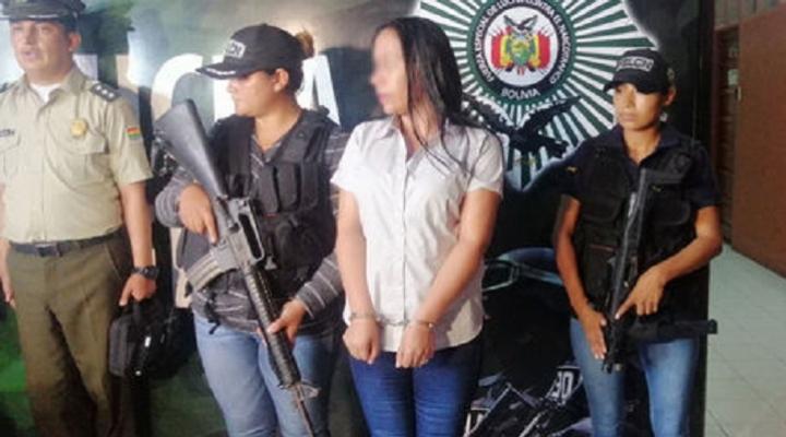 Justicia determina detención preventiva en la cárcel de Palmasola para Dora Vallejos