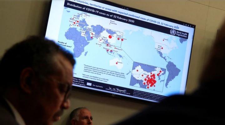 """La OMS elevó  a """"muy alta"""" la amenaza del coronavirus, hay 55 países con pacientes aislados"""
