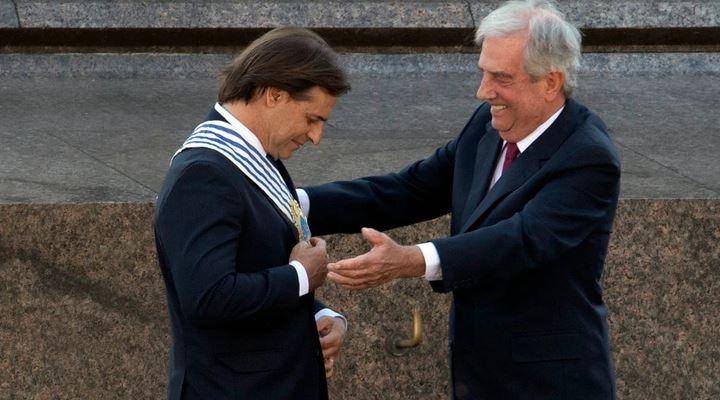 """Lacalle Pou asumió Presidencia de Uruguay: """"En el Mercosur debemos dejar de lado las cuestiones ideológicas"""""""