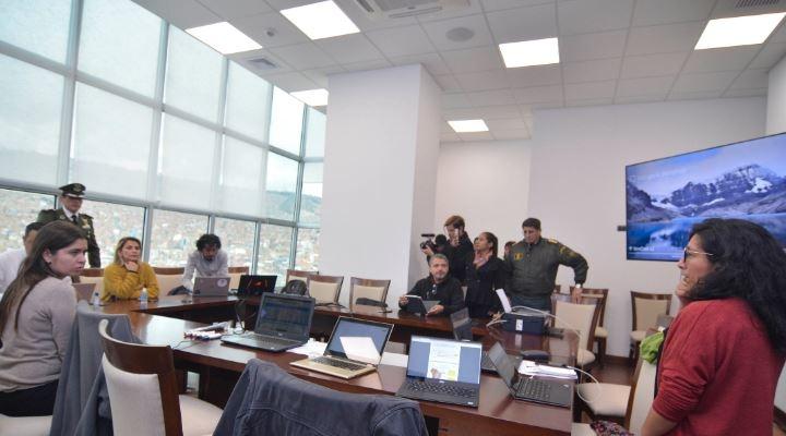 Se instala centro de análisis y monitoreo del coronavirus para una adecuada toma de decisiones