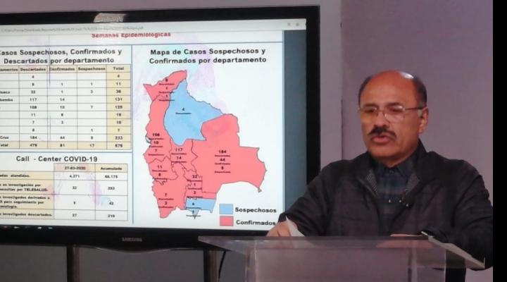 Confirman 7 nuevos casos de coronavirus y en el país suman 81; Pando reporta primer paciente