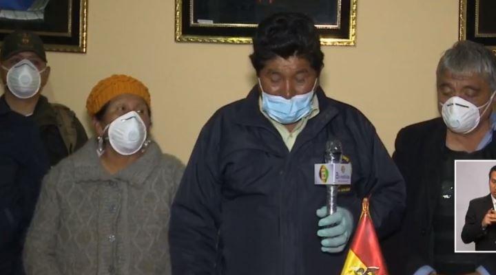 Patacamaya se aísla después de la muerte de uno de sus pobladores por coronavirus
