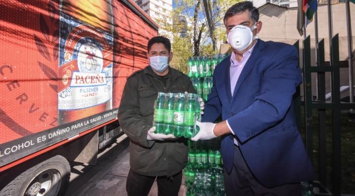 CBN entrega gaseosas y Maltín para 22 mil personas de las Fuerzas Armadas, Policía Nacional y hogares de acogida