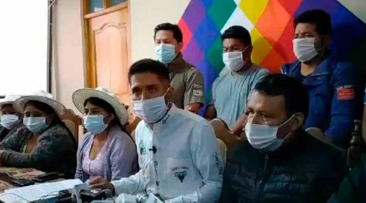 Cocaleros del Trópico piden flexibilizar cuarentena y fecha de comicios, bajo amenaza de movilizaciones