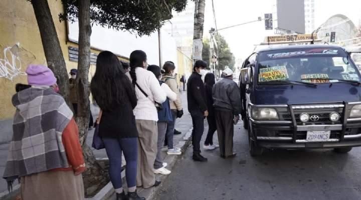 Transportistas piden ser parte del COED y opinar sobre la cuarentena rígida de La Paz