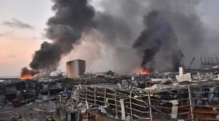 Suben a 73 personas los muertos y 3.700 heridos tras las dos grandes explosiones en el puerto de Beirut