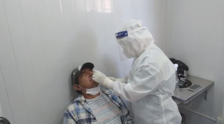 La Paz supera los 20.000 contagios en la primera semana de agosto
