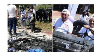 Desalojan a masistas de una plaza en Cochabamba y Camacho y Pumari no usan barbijos 1
