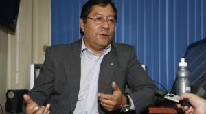 """Arce advierte que Morales """"debe resolver sus temas pendientes en los estamentos judiciales"""" 1"""