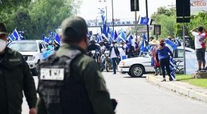 Policía no permite el ingreso de la caravana del MAS a la ciudad de Cochabamba debido a la cuarentena 1