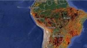 Incendios en América Latina: la catástrofe natural que está afectando a gran parte del continente americano