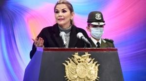 Añez acusa a Argentina de ofrecer impunidad al expresidente Morales 1