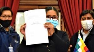 Legislativo, controlado por el MAS, advierte que no aprobará ningún crédito hasta la culminación del gobierno de Añez