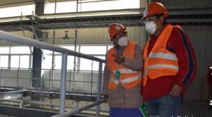 Chiri expresa su preocupación por demora en la construcción de la planta de carbonato de litio 1