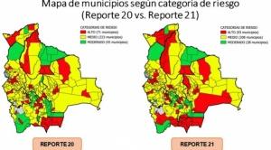 Municipios en riesgo alto de contagios de COVID-19 aumentan de 71 a 93