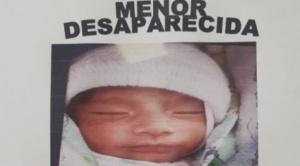 Gobierno dice que existe la posibilidad de que la bebé Samanta pueda estar fuera del país 1