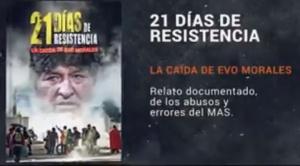 Libro de Brockmann relata las horas clave de Evo Morales en el hangar presidencial