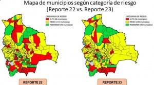 El número de municipios con riesgo alto de contagio de COVID-19 baja de 86 a 66