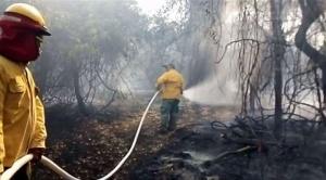 Persisten incendios en la Chiquitania, en Guarayos familias dejan sus casas y huyen del fuego