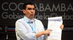 Cochabamba: Suspenden a alcalde Leyes por la compra de vehículos antes de su licitación