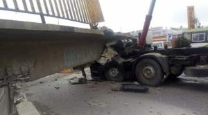 Un fallecido por la caída de una pasarela en la Av. 6 de Marzo de El Alto