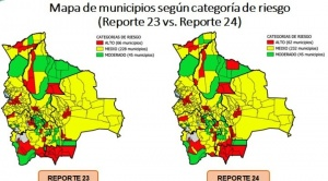 A dos días de los comicios, municipios con riesgo alto de contagio de COVID-19 bajan de 66 a 62