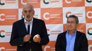 """Mesa reconoce a Arce ganador de las elecciones y le anuncia que """"somos la cabeza de la oposición"""""""