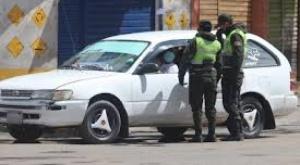 Tránsito detuvo a 4 conductores con permisos falsos y códigos QR pasados  1