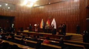 TSE entrega credenciales a nuevos legisladores como acto de la transición de mando 1