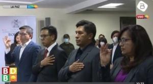 Posesionan a cuatro nuevos viceministros del área de Economía