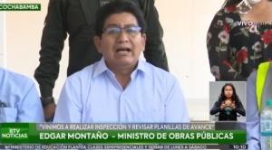 """Montaño asegura que el proyecto de """"Mi Tren"""" se entregará en finales del 2021 debido a problemas económicos"""