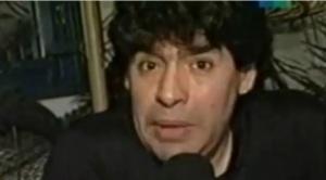 """Maradona y la entrevista en """"El Rayo"""", la más polémica: cuando disparó contra Pelé, Shilton, Passarella, Macaya y Susana"""