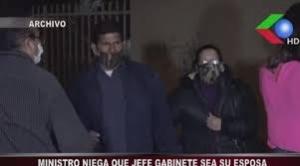"""Ministro Cáceres dice que se """"equivocó"""" al decir que su jefa de gabinete era su esposa 1"""