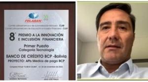 Dos bancos bolivianos ganan premios a la innovación financiera en Latinoamérica 1