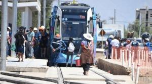 Arce libera Bs 185 millones para reactivar el proyecto del Tren Metropolitano en Cochabamba