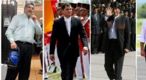 Evo, Lugo y Correa son veedores de elecciones parlamentarias de Maduro y Leopoldo López anticipa fraude