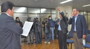 Celier Aparicio Arispe retorna a la Dirección de la DGAC