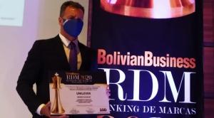 Unilever es galardonada por ser la empresa más influyente de Bolivia