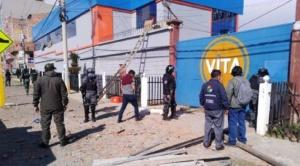 Laboratorios Vita reanuda sus actividades de producción desde este lunes