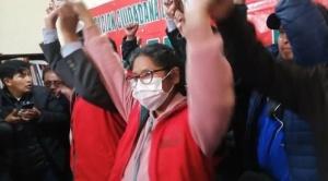 Eva Copa abandona el MAS y va con Jallalla La Paz como candidata a alcaldesa de El Alto