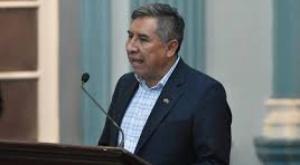 Canciller Mayta, segundo ministro de Arce infectado por coronavirus
