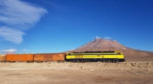 Ferroviaria Andina transportó más de 722 mil toneladas de carga en 2020