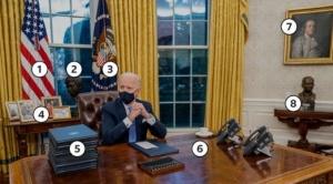 Biden: los simbolismos de la nueva Oficina Oval de Joe Biden (y qué cambió con respecto a la de Trump)