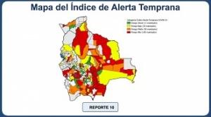 Santa Cruz tiene a 52 de los 201 municipios con riesgo de contagio de Covid-19