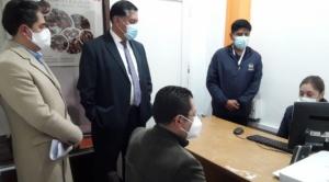Víctimas de delitos podrán presentar denuncias verbales en la Fiscalía de La Paz