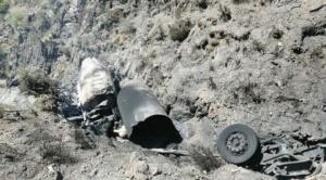 Explosión de camión cisterna con oxígeno medicinal deja dos fallecidos