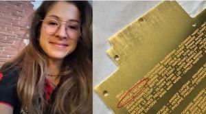 Camila Velasco, el nombre de una boliviana que llegó a Marte en el Perseverance