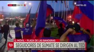 Militantes de Súmate inician protestas luego de que el TED inhabilitara a Manfred Reyes Villa